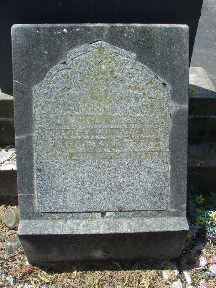Barra Francis Headstone