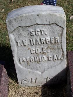 Thomas Virgil Harper's Headstone