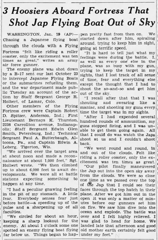 1943-01-19 The Indianapolis News (Indiana) Page 4
