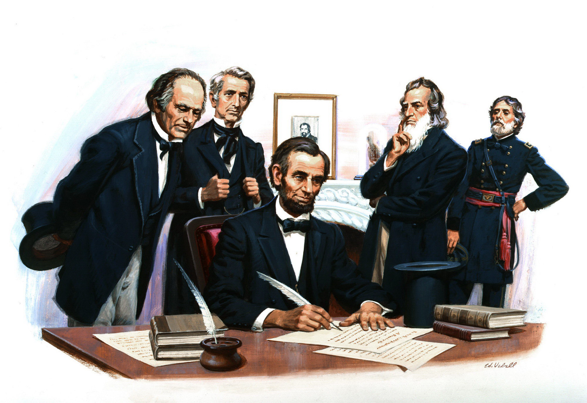 US History - Georgia.North Carolinia.Virginia.The Emancipation Proclamation - photo