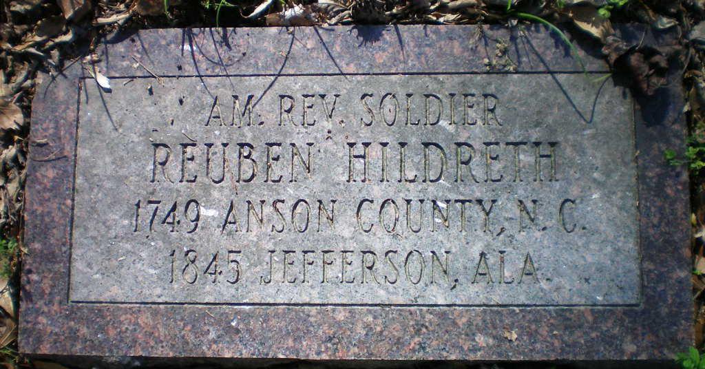 Hildreth, Reuben marker