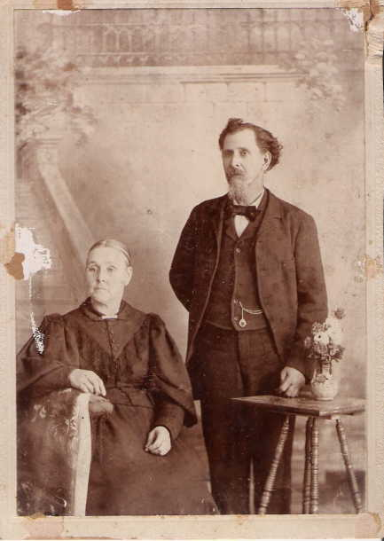Moses and Lydia Adamson