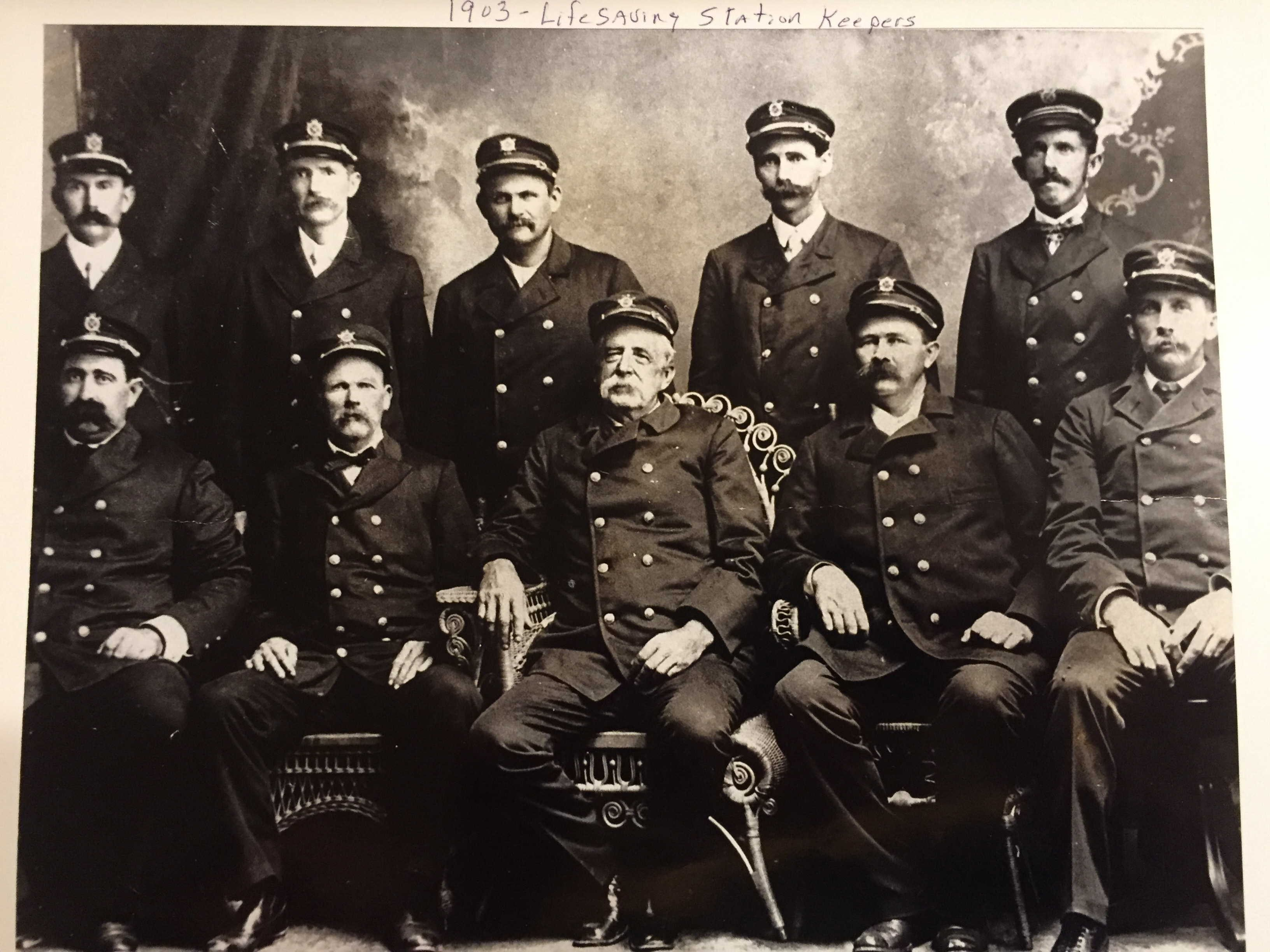 1903 Lifesaving Station Keepers