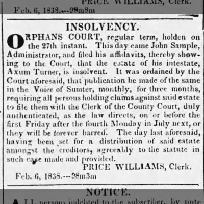 Orphans court