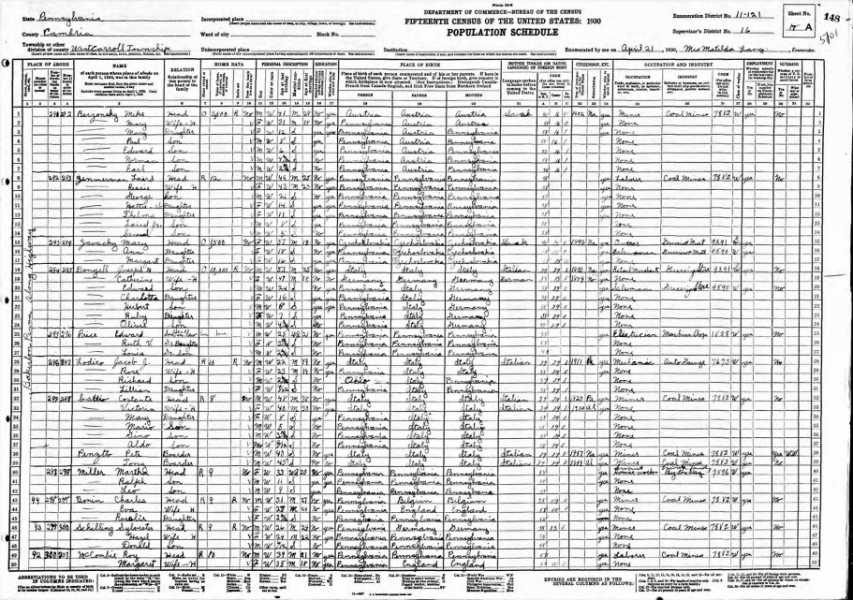 not 1930 Census Margaret Logan with Husband