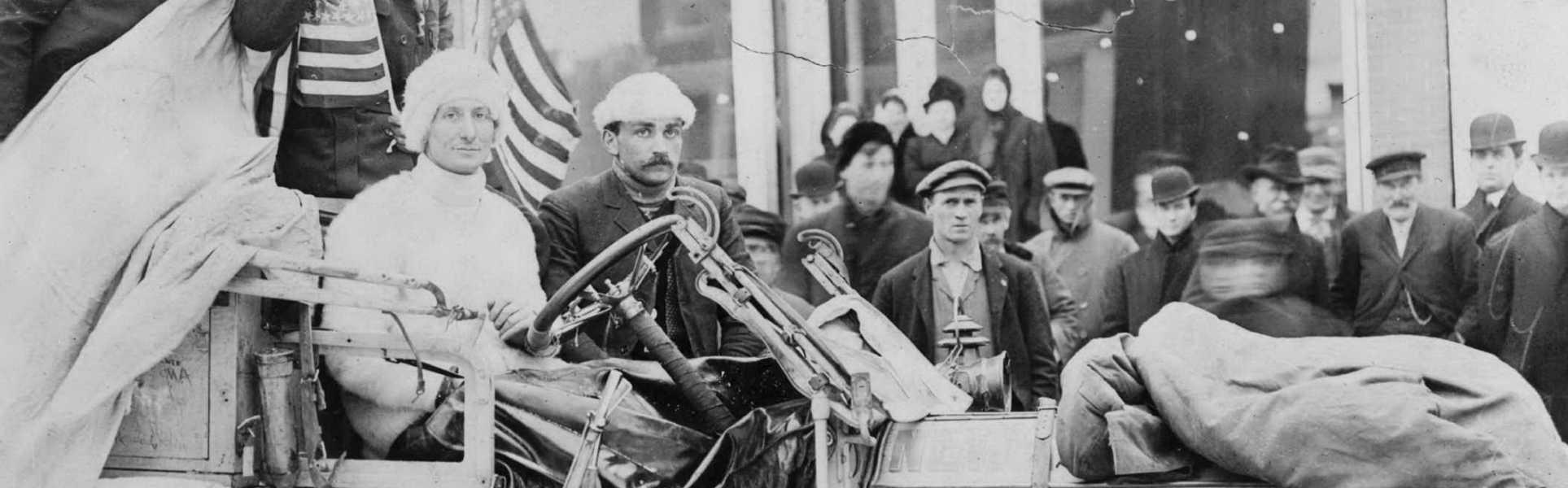 prescale The 1908 Race Around the World