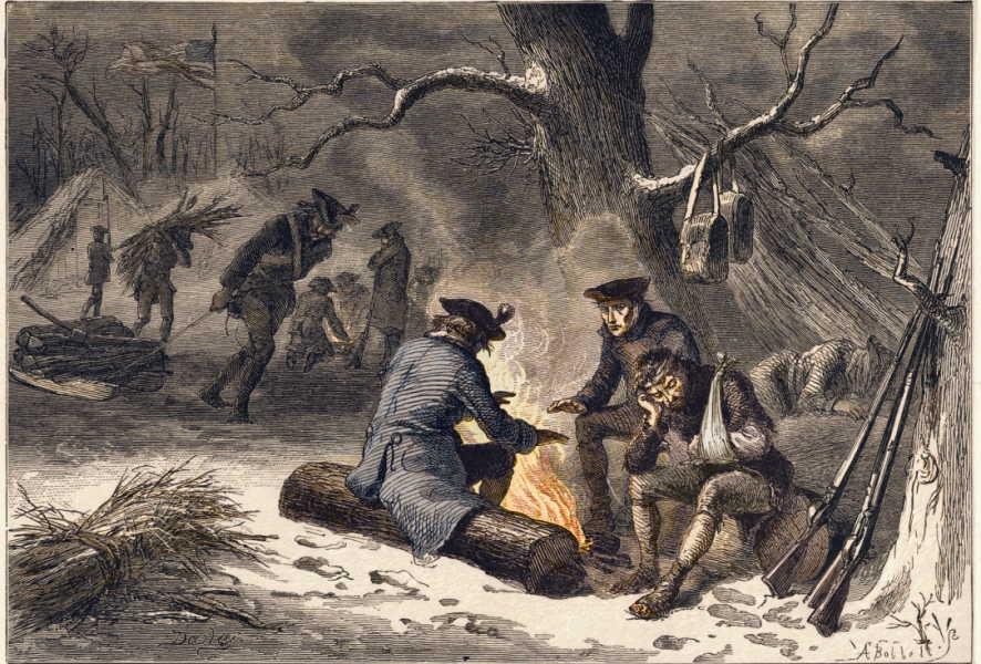 prescale Serving in the American Revolution