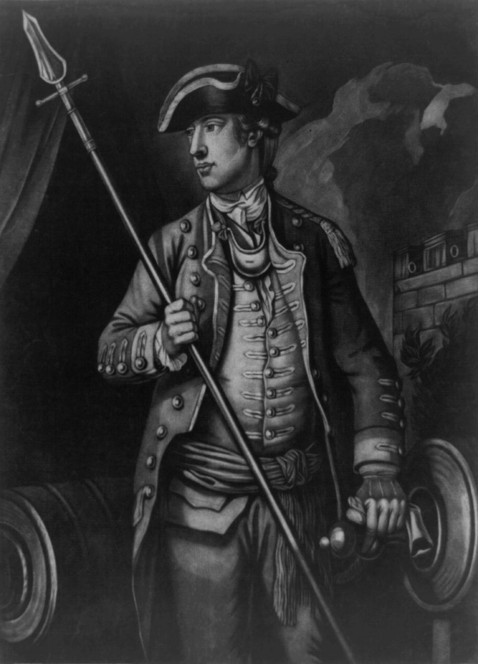 prescale American Revolution–The Battle of Ridgefield