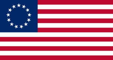 FLAG - USA (1776 -1795)